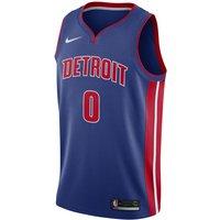 Andre Drummond Pistons Icon Edition Nike NBA Swingman Trikot - Blau