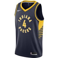 Victor Oladipo Pacers Icon Edition Nike NBA Swingman Trikot - Blau