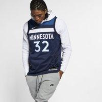 Karl-Anthony Towns Timberwolves Icon Edition Nike NBA Swingman Trikot - Blau