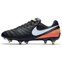Nike Tiempo Legend VI SG-PRO Anti Clog Traction Soft-Ground Football Boot - Black
