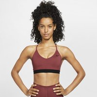 Nike Indy Women's Light-Support Sports Bra - Red
