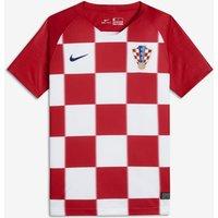 2018 Croatia Stadium Home Older Kids' Football Shirt - Red