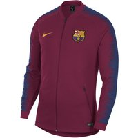 FC Barcelona Anthem Men's Football Jacket - Red