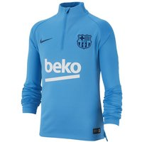 FC Barcelona Dri-FIT Squad Drill Older Kids' Long-Sleeve Football Top - Blue