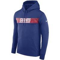 Nike Dri-FIT Therma (NFL Giants) Pullover-Hoodie für Herren - Blau