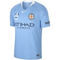 2018/19 Melbourne City FC Stadium Home Men's Football Shirt - Blue