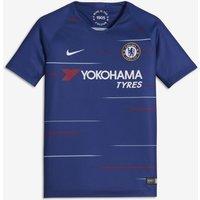 2018/19 Chelsea FC Stadium Home Older Kids' Football Shirt - Blue