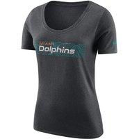 Nike Team (NFL Dolphins) Women's T-Shirt - Grey