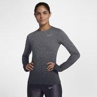 Nike Medalist Women's Long-Sleeve Running Top - Grey