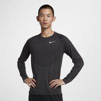 Nike Medalist Men's Long-Sleeve Running Top - Black