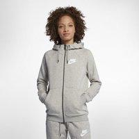 Nike Sportswear Rally Women's Full-Zip Hoodie - Grey