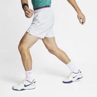 NikeCourt Dri-FIT Men's 18cm approx. Tennis Shorts - White