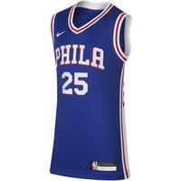 Icon Edition Swingman Jersey (Philadelphia 76ers) Nike NBA-Trikot für ältere Kinder - Blau