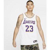 LeBron James Lakers Association Edition Nike NBA Swingman Jersey - White