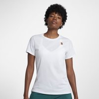 NikeCourt Women's Tennis T-Shirt - White