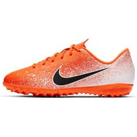 Nike Jr. Vapor 12 Academy TF Younger/Older Kids' Turf Football Shoe - Orange