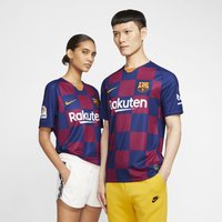 F.C. Barcelona 2019/20 Stadium Home Men's Football Shirt - Blue