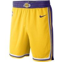 Los Angeles Lakers Icon Edition Swingman Nike NBA-Shorts für Herren - Gelb