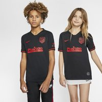 Atletico de Madrid 2019/20 Stadium Away Older Kids' Football Shirt - Black