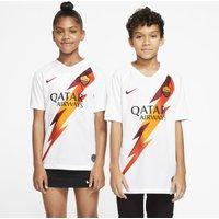 A.S. Roma 2019/20 Stadium Away Older Kids' Football Shirt - White