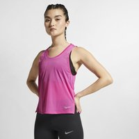 Nike Breathe Miler Women's Running Tank - Red