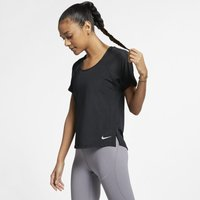 Nike Breathe Miler Women's Running Top - Black