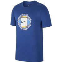 NikeCourt Men's Graphic Tennis T-Shirt - Blue