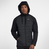 Nike Therma Winterized Men's Full-Zip Hoodie - Black