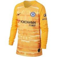 Chelsea FC 2019/20 Stadium Goalkeeper Older Kids' Football Shirt - Gold