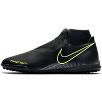 Nike Phantom Vision Academy Dynamic Fit TF Artificial-Turf Football Boot - Black