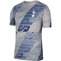 Tottenham Hotspur Men's Short-Sleeve Football Top - Grey