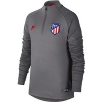 Atletico de Madrid Strike Older Kids' Football Drill Top - Grey