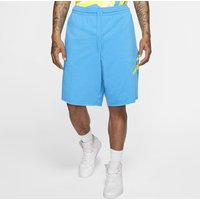Jordan Jumpman Logo Men's Fleece Shorts - Blue