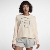 Hurley Sun Crew Waffle Women's Long-Sleeve T-Shirt - Cream