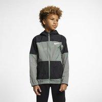 Nike Dri-FIT Older Kids' Woven Training Jacket - Green