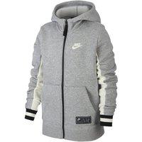 Nike Air Older Kids' Full-Zip Hoodie - Grey