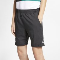 NikeCourt Dri-FIT Older Kids' (Boys') Tennis Shorts - Black
