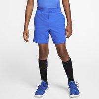 NikeCourt Dri-FIT Older Kids' (Boys') Tennis Shorts - Blue