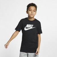 Nike Sportswear Older Kids' Cotton T-Shirt - Black