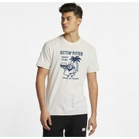 Hurley Get Pitted Men's T-Shirt - Cream