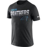 Nike Legend (NFL Panthers) Men's Long-Sleeve T-Shirt - Black
