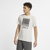 Hurley Aloha Only Men's T-Shirt - Cream