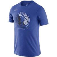 Dallas Mavericks Nike Dri-FIT NBA-T-Shirt für Herren - Blau