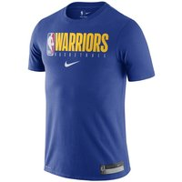 Golden State Warriors Nike Men's NBA T-Shirt - Blue