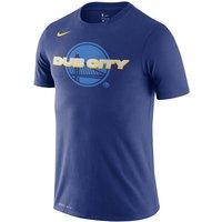 Golden State Warriors Nike Dri-FIT Men's NBA T-Shirt - Blue