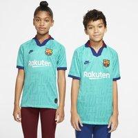 FC Barcelona 2019/20 Stadium Third Older Kids' Football Shirt - Green