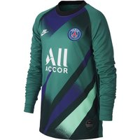 Paris Saint-Germain 2019/20 Stadium Goalkeeper Third Older Kids' Football Shirt - Green