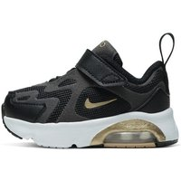 Nike Air Max 200 Baby and Toddler Shoe - Black