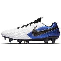 Nike Tiempo Legend 8 Elite SG-PRO Anti-Clog Traction Soft-Ground Football Boot - White