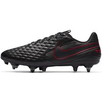 Nike Tiempo Legend 8 Academy SG-PRO Anti-Clog Traction Soft-Ground Football Boot - Black
